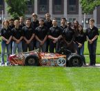 Image - Waterjet Manufacturer's Carbon Composite, Steel Parts Give Competitive Edge to Formula SAE Race Team