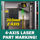 Image - Versatile 4-Axis, Class 1 Fiber Laser Part Marking Systems