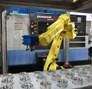 Image - New Simple-To-Use Manufacturing System Combines Turning Center and Robotic Arm