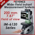 Image - NEW Wide-field Instant Measurement System � <br>Now with a 7.87 mm Field of View