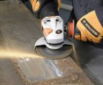 "Image - New Grinding Wheel Provides ""Hassle -Free"" Mill Scale Removal"