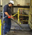 Image - Fab Shop Uses Heavy Duty Vacuum to Disintegrate Safety Concerns, Unscheduled Downtime and Wasted Manpower