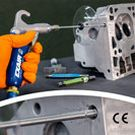 Image - New Back Blow Safety Air Gun Clears Out Chips and Coolant from Inside Parts
