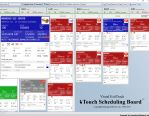 Image - Touch Scheduling Board Replaces Those Old Magnetic Boards Found in Many Shops