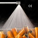 Image - Cooling and Cleaning Made Easy with Steel Nozzle's Full Spray