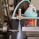 Image - No Drip Nozzle Provides Even Flow of Liquid for Marking, Lubricating, Rinsing and Cooling (Video)